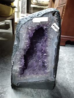 Sale 9108 - Lot 1054A - Dark Amethyst Cave