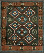 Sale 8338C - Lot 15 - Afghan Kazak 180cm x 155cm