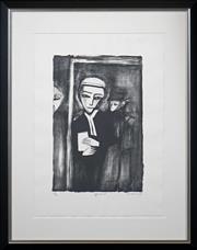Sale 8415 - Lot 515 - Robert Dickerson (1905 - 2015) - Affidavit 48 x 32cm (frame size: 88 x 70cm)