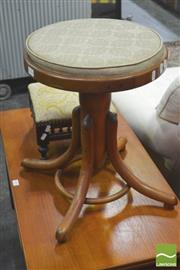 Sale 8406 - Lot 1074 - Bentwood Stool and Small Example