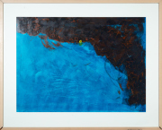 Sale 8677B - Lot 517 - Artist Unknown, Abstract, acrylic on paper, 61cm x 84cm