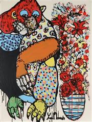 Sale 8826A - Lot 5045 - Yosi Messiah (1964 - ) - Flower Boy 102 x 76cm