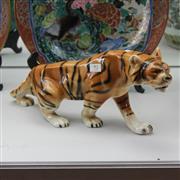 Sale 8362 - Lot 93 - Royal Dux Tiger