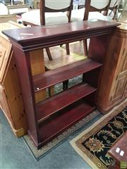 Sale 8593 - Lot 1071 - Timber Open Bookshelf
