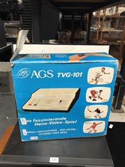Sale 8819 - Lot 2288 - Vintage AGS Gaming Machine in Box (missing hand controllers)