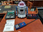 Sale 8908 - Lot 1093 - Tandy Talking Robot With Controller & Pair Of Vintage Hand Held Game Consoles