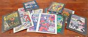 Sale 8990H - Lot 87 - A group of twelve framed comic covers including the Phantom and other superheroes in A4 frames
