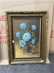 Sale 9082 - Lot 2084 - Artist Unknown Still Life acrylic on canvas, frame: 60 x 45 cm, signed lower right