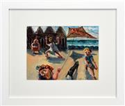 Sale 8330A - Lot 130 - Arthur Boyd (1920 - 1999) - Untitled, 1943 (Kite) 25 x 33cm