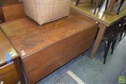 Sale 8390 - Lot 1223 - Silky Oak Drop-Side Table