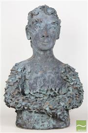 Sale 8481 - Lot 109 - Terracotta sculpture of A male bust