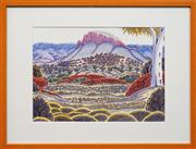 Sale 8630A - Lot 49 - Kevin Namatjira (1958 - ) - West MacDonnell Ranges 33.5 x 46cm