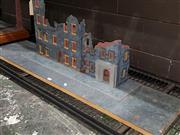 Sale 8817C - Lot 530 - City Building & Street Diorama