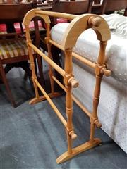 Sale 8834 - Lot 1089 - Timber Towel Rail