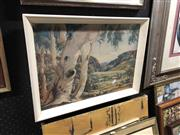Sale 8856 - Lot 2099 - Albert Namatjira Print 34x48.5