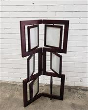 Sale 9063 - Lot 1095 - Modern Timber Photo Frame Stand