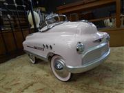 Sale 7943A - Lot 1515 - Super Sport Pink Peddle Car