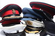 Sale 8706 - Lot 97 - Collection of Military Hats (8)