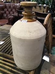 Sale 8795 - Lot 1096 - Ceramic Demijohn