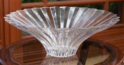 Sale 9155H - Lot 5 - A Villeroy & Boch Crystal centrebowl. Diameter 40cm
