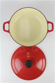 Sale 8403 - Lot 38 - Chasseur Lidded Casserole Pot