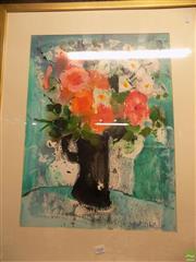 Sale 8557 - Lot 2068 - Shiela White - Still Life 60 x 45.5cm
