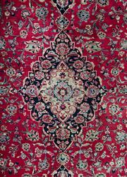 Sale 8643C - Lot 2 - Vintage Persian Mashad 385cm x 305cm