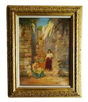 Sale 8891H - Lot 73 - ARTIST UNKNOWN - Orientalist School 33.0 x 24.0cm