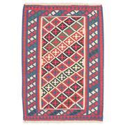 Sale 8913H - Lot 43 - Persian Qashgai Kilim Rug, 115x88cm, Handspun Wool