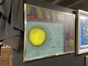 Sale 8995 - Lot 2083 - Artist Unknown (Moraga) Untitled, 1996 acrylic, 63 x 84cm (frame) signed