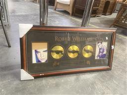Sale 9106 - Lot 2096 - Robbie Williams Collage