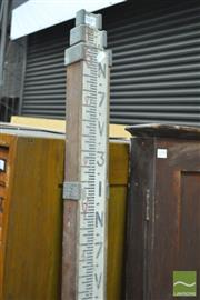 Sale 8338 - Lot 1049 - Surveyors Segment Staff