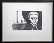 Sale 8415 - Lot 591 - Robert Dickerson (1905 - 2015) - Postponement 32 x 48cm (frame size: 70 x 88cm)