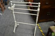 Sale 8489 - Lot 1087 - Timber Towel Rail