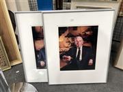 Sale 8789 - Lot 2122 - Pair of Photographic Portraits (frame: 56 x 47.5cm, each)