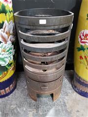 Sale 8889 - Lot 1008 - Cast Iron Fire Pit