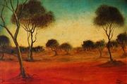 Sale 9013 - Lot 570 - Kevin Charles (Pro) Hart (1928 - 2006) - Landscape, 1967 29.4 x 44 cm (frame: 39 x 55 x 4 cm)