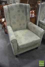 Sale 8289 - Lot 1081 - Pair of Upholstered Armchairs