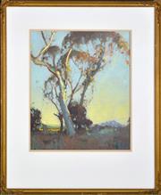 Sale 8339A - Lot 507 - Dixon Copes (1914 - 2002) - Landscape 40.5 x 33.5cm