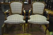 Sale 8361 - Lot 1037 - Pair of Louis Style Armchairs