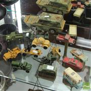 Sale 8365 - Lot 50 - Vintage Corgi Army Vehicles and Others Incl Artillery Guns