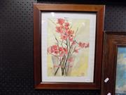 Sale 8417T - Lot 2062 - Maureen McClintock - Spring Blossom 21 x 29cm