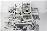 Sale 8479A - Lot 2 - Australian 5000m Runner Andrew Lloyd, Cyclist Dean Woods with various other action photgraphs.