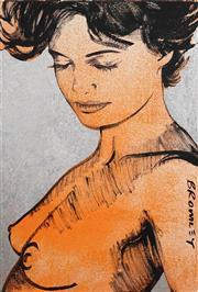 Sale 8492 - Lot 548 - David Bromley (1960 - ) - Charlotte 90 x 60cm