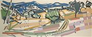 Sale 8565 - Lot 576 - Guy Stuart (1942 - ) - Longford Gully 56 x 137