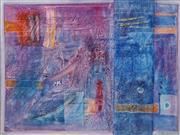 Sale 8633A - Lot 5070 - Makrab (1967 - ) - Geometric Fusion, 2003 64.5 x 91cm (frame: 96 x 122cm)
