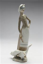 Sale 8673 - Lot 22 - Lladro Figure Of Lady With Ducks