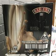 Sale 8801W - Lot 81 - 6x Baileys Irish Cream, 1000ml