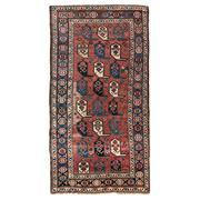 Sale 8870C - Lot 57 - Antique Caucasian Boteh Kazak Rug in Handspun Wool, Circa 1950, 285x150cm