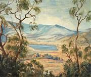 Sale 8916 - Lot 560 - Lloyd Rees (1895 - 1988) - Landscape, 1966 60.5 x 72 cm